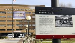 **FILE** Howard University Hospital in Washington, D.C. (The Washington Times)