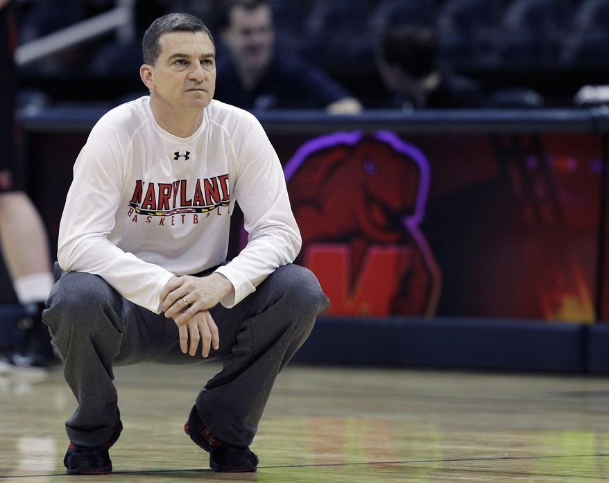 Mark Turgeon guided Maryland to a 17-15 record in his first season. Heading into his second, there are only two players who played in the Gary Williams era who are returning: James Padgett and Pe'Shon Howard. (Associated Press)
