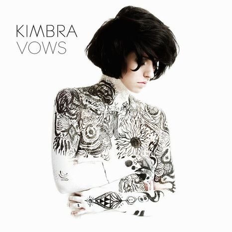 "Album cover for Kimbra ""Vows""."