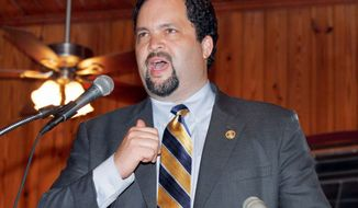 NAACP President and CEO Benjamin Jealous (AP Photo/Reinhold Matay)
