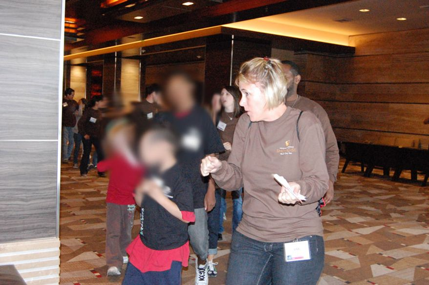 Some of the hundreds of snapshots posted on an internal GSA website from Wednesday of the $823,000 four-day affair in Las Vegas in 2010.