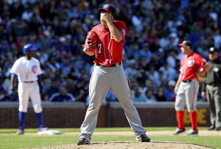 Washington Nationals relief pitcher Sean Burnett has racked up two saves and is a candidate to earn a few more now that Henry Rodriguez has lost the job. Burnett has a 0.71 ERA and 1.03 WHIP. (AP Photo/Nam Y. Huh)