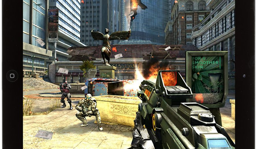 Commander Kal Wardin is back in the first person shooter for the iPad N.O.V.A. 3: Near Orbit Vanguard Alliance.