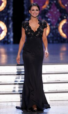 """Miss America 2012 Laura Kaeppeler will be among the guests at the Pentagon Federal Credit Union Foundation's """"Night of Heroes Gala"""" Thursday. (Associated Press)"""