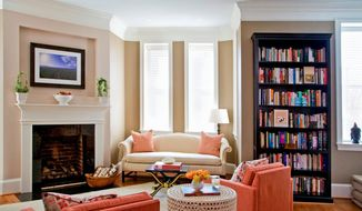 Photo by Ross Shapple Marika Meyer, owner of Marika Meyer Interiors in the District, said reupholstering a piece of vintage furniture can be helpful for homes that are older and may have smaller rooms.