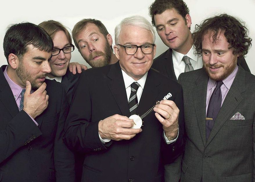 Steve Martin has found new life as a world-class banjo picker. Martin and his band, The Steep Canyon Rangers, will tear it up at DelFest this weekend in Cumberland, Md.