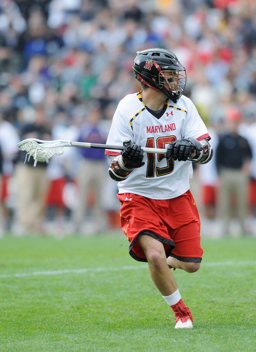 Senior attackman Joe Cummings will begin a nine-month discipleship with a Christian organization once his days at Maryland are over. (Associated Press)