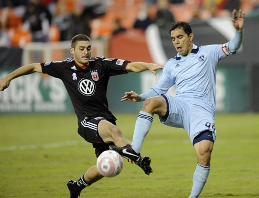 Defender Chris Korb has been one of several reserves who have stepped into the starting lineup for D.C. United. (AP Photo/Nick Wass)