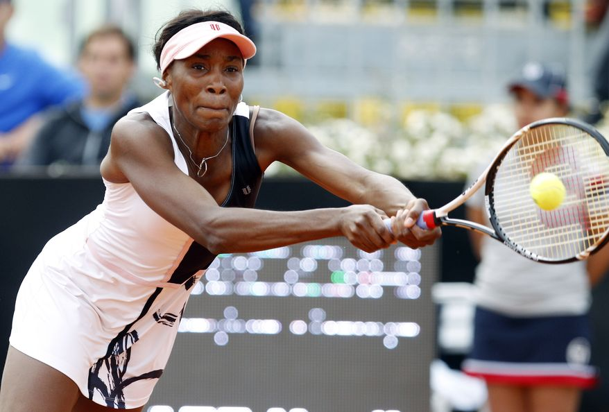 Venus and Serena Williams will play at the French Open, a year after neither sister went with health problems. (AP Photo/Andrew Medichini)