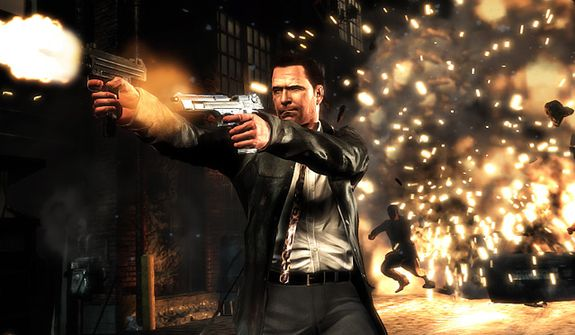 Our hero stars in an explosive adventure in the video game Max Payne 3.