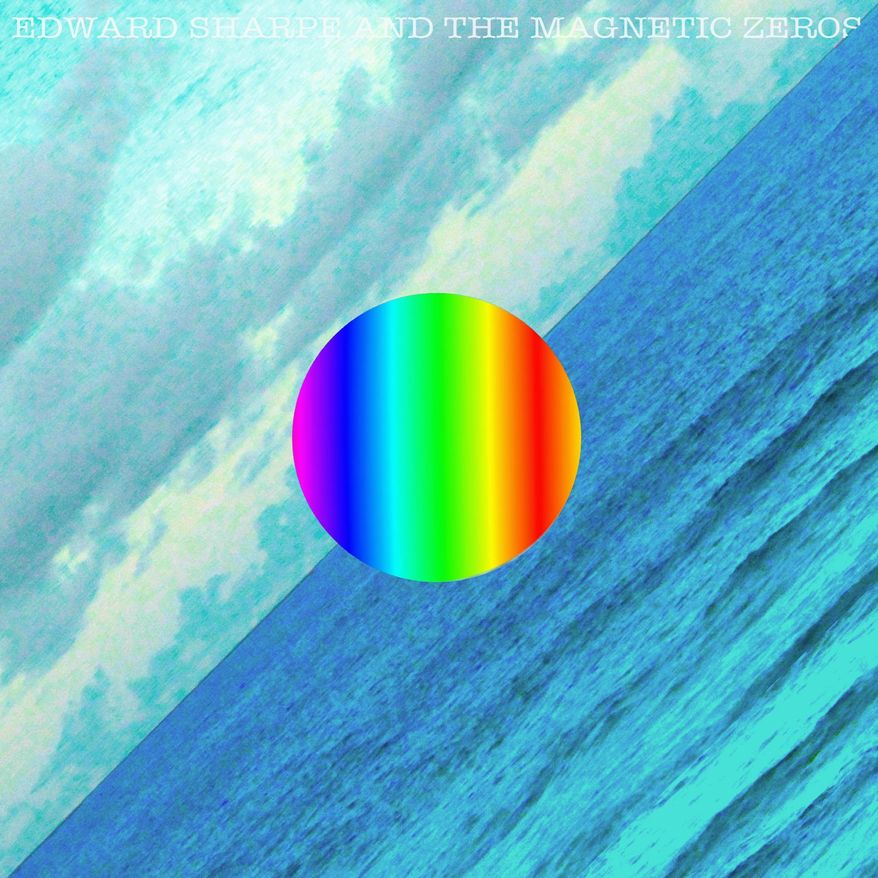 "Album cover for Edward Sharpe and the Magnetic Zeroes ""Here""."