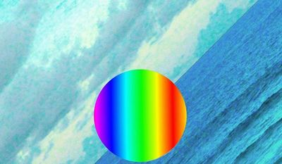 """Album cover for Edward Sharpe and the Magnetic Zeroes """"Here""""."""