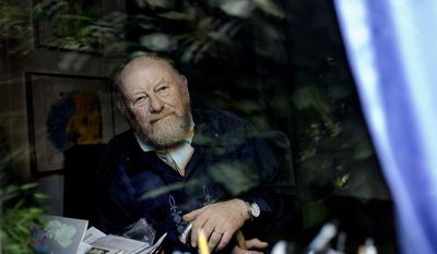 ** FILE ** Danish cartoonist Kurt Westergaard, whose caricature of the Prophet Muhammad inflamed Islamist terror groups, is pictured at his home near Aarhus, Denmark, in June 2010. (AP Photo/Peter Hove Olsen, POLFOTO)