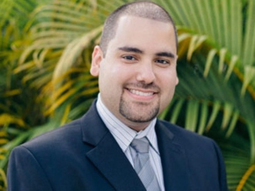 VoteforEddie.com, who had his name legally changed from Eddie Gonzalez, is an independent running in Florida's 25th Congressional District. (Photo courtesy voteforeddie.com)