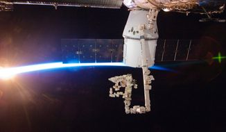 The SpaceX Dragon is the first commercially developed vehicle to be sent to the International Space Station. The successful mission that ended Thursday represents NASA's future of space travel. (Associated Press)