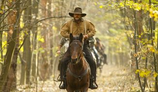 "Bill Paxton portrays Randall McCoy in the History network's miniseries ""Hatfields & McCoys."" (Associated Press/History)"