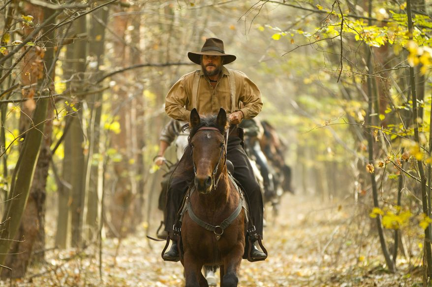 """Bill Paxton portrays Randall McCoy in the History network's miniseries """"Hatfields & McCoys."""" (Associated Press/History)"""