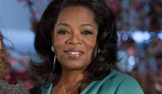 "** FILE ** This March 9, 2012, file photo shows Oprah Winfrey at the Third Annual DVF Awards held at the United Nations. Winfrey's OWN cable channel and her magazine are bringing back her book club, starting with the memoir ""Wild"" by Cheryl Strayed. (AP Photo/Charles Sykes, file)"
