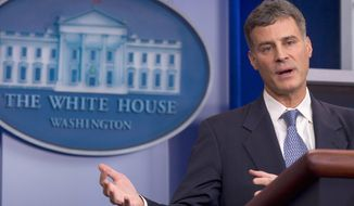 """""""The economy is growing, but it is not growing fast enough"""" to make much headway in reducing unemployment among millions of Americans."""" - Alan B. Krueger, chairman of the White House Council of Economic Advisers"""