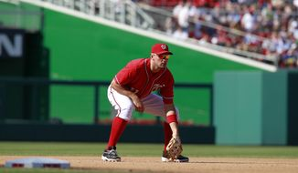 """""""I've been terrible.""""  - Washington Nationals third baseman Ryan Zimmerman, who hit into a double play with two runners on in the eighth inning and his team trailing by a run. Zimmerman is hitting .218 with runners in scoring position this season. (Associated Press)"""