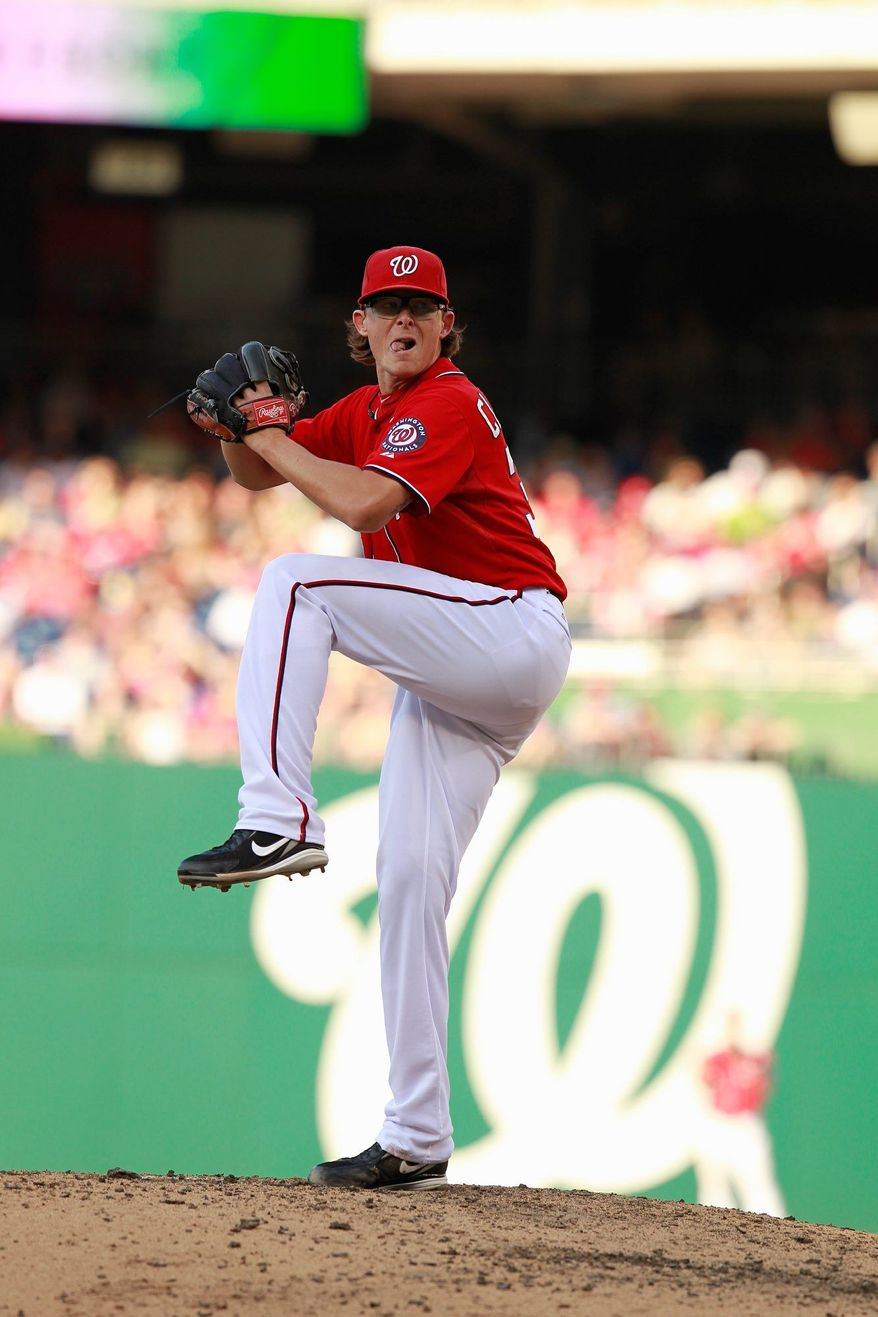 The Nationals' Tyler Clippard has struck out six of the 11 batters he's faced since inheriting the closer's role. (Associated Press)
