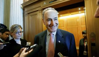 """""""[Republicans] don't want to be drawn into a conversation on this issue and they're hoping the vote gets drowned out."""" Sen. Charles E. Schumer, New York Democrat."""