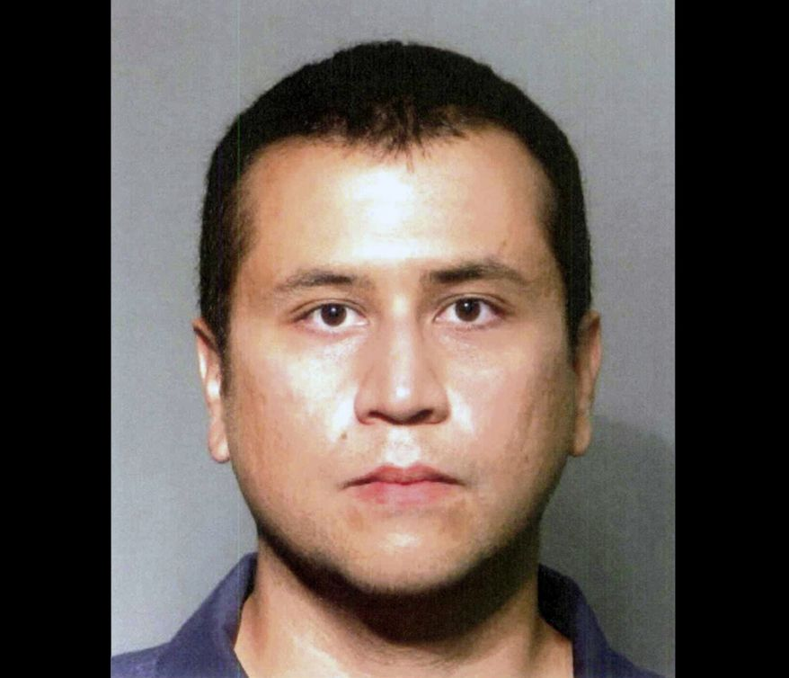 This booking photo provided by the Seminole County Sheriff's Office shows George Zimmerman, who is charged with second-degree murder in the February shooting death of Trayvon Martin. Zimmerman returned on June 3, 2012, to the John E. Polk Correctional Facility in Sanford, Fla., after his bail was revoked. (Associated Press/Seminole County Sheriff's Office)