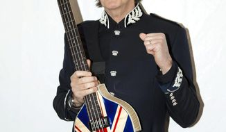 Paul McCartney confirmed that he'll be the closing act for the opening ceremony at the Olympics in London. (MPL Communications via Associated Press)