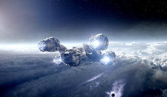"Ridley Scott's ""Prometheus"" is not a direct prequel to ""Alien,"" but it does take place in the same universe as the 1979 classic helmed by Mr. Scott. The new film follows a group of explorers, including Michael Fassbender as the android David, who set out in space to find the ""engineers"" that created humanity. (20th Century Fox via Associated Press)"