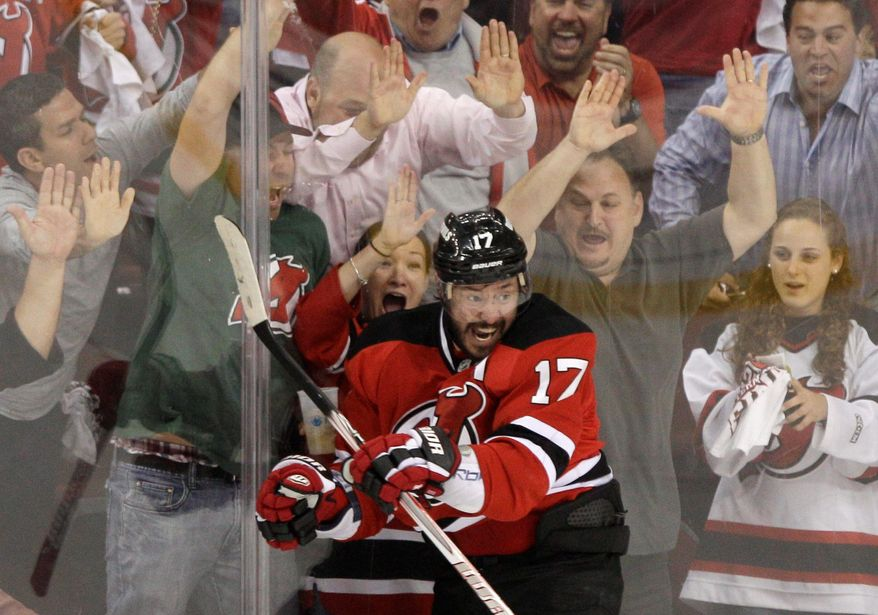 New Jersey forward Ilya Kovalchuk has 18 points this postseason, but he's been held scoreless by Los Angeles through the first three games of the Stanley Cup Final. (Associated Press)