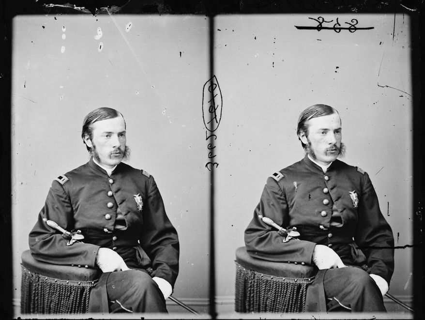 Dr. Charles A. Leale was just 23 and had been practicing medicine for six weeks when he rushed to the side of Abraham Lincoln the night the president was shot at Ford's Theatre. A report he wrote about what he saw when he reached the stricken president and what he did was recently found. (Library of Congress via Associated Press)