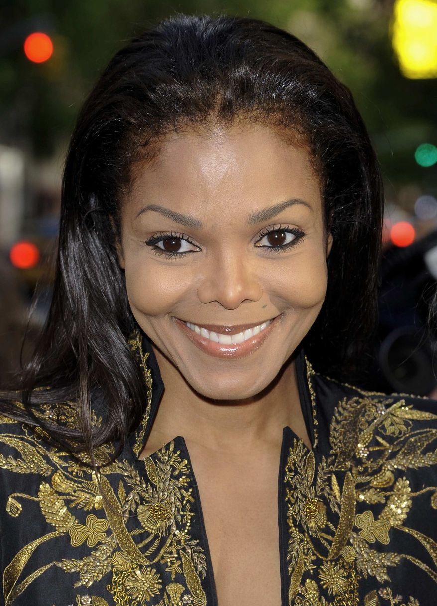 """** FILE ** In this Thursday, May 10, 2012, file photo, singer Janet Jackson attends photographer Marco Glaviano's """"Supermodels"""" exhibition at the Keszler Gallery, in New York. (AP Photo/Evan Agostini, File)"""