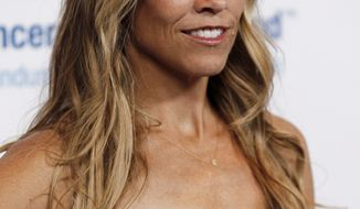 """**FILE** Musician Sheryl Crow attends the Entertainment Industry Foundation's """"Unforgettable Evening"""" in Beverly Hills, Calif., on April 18, 2012. (Associated Press)"""