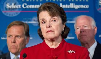 """""""When people say they don't want to work with the United States because they can't trust us to keep a secret, that's serious. ... When an asset's life is in jeopardy or the asset's family's life is in jeopardy, that's a problem.""""  - Sen. Dianne Feinstein, California Democrat and chairwoman of the Senate Intelligence Committee"""