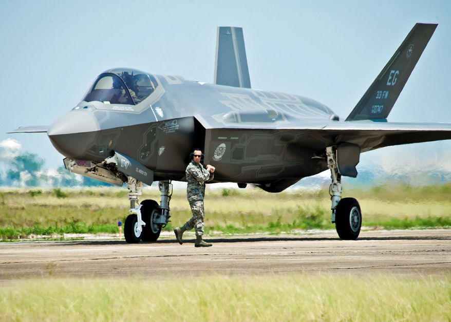 If Congress can reach a compromise next year to scale back cuts in 2014 and beyond, the military would be able to save its cherished big-ticket items, including the F-35 Joint Strike Fighter. (Associated Press)
