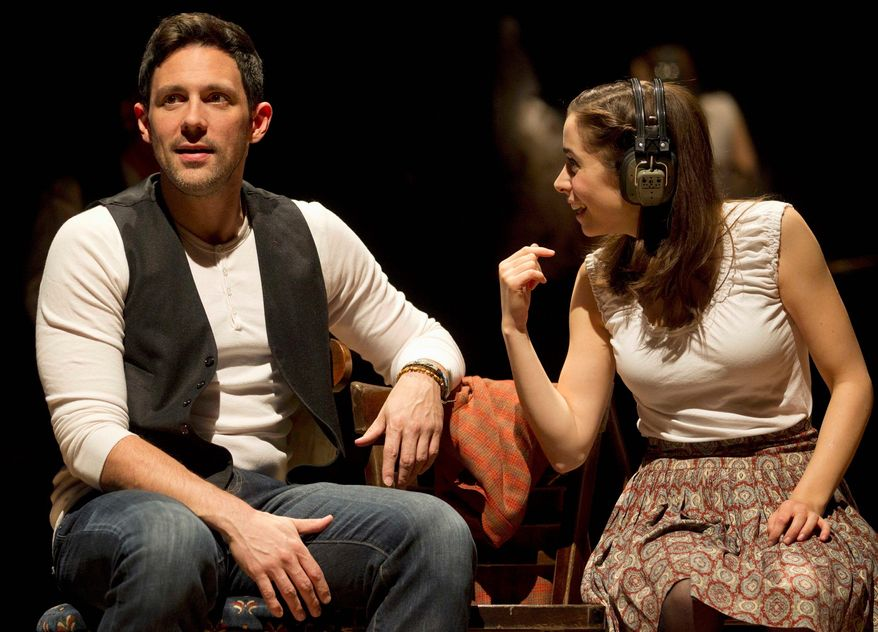 "Steve Kazee, a 36-year-old rising star, won the Tony for best actor in a musical for his role as the gentle Irish hero in ""Once,"" the show crowned best musical at Sunday's 66th Tony Awards show in New York. (Boneau/Bryan-Brown Inc. via Associated Press)"