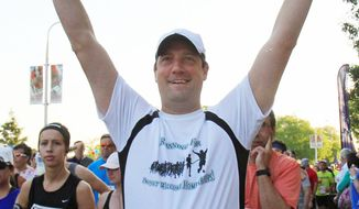 Rep. Tim Ryan, Ohio Democrat waiting to run in this year's Cleveland Marathon, engages in the practice of mindfulness, which dwells on breathing, silence and concentration to keep one's thoughts in the present moment. (Associated Press)