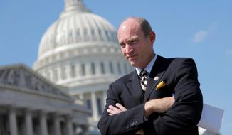 ** FILE ** This June 11, 2012, file photo shows Rep. Thaddeus G. McCotter, Michigan Republican. (Associated Press)