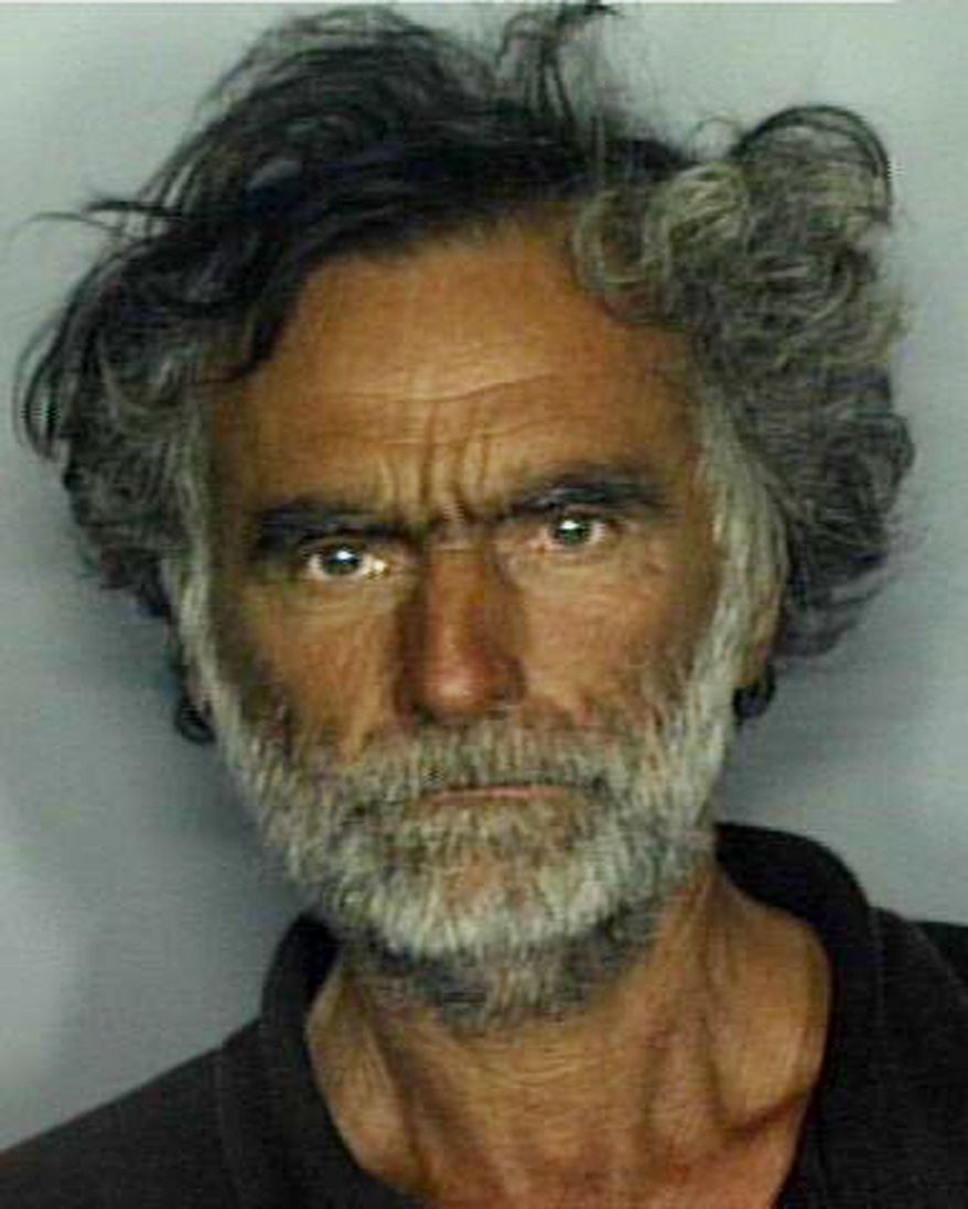 **FILE** This undated booking mug made available by the Miami-Dade Police Department shows Ronald Poppo, the victim in a horrific face-chewing attack in Miami on May 26, 2012. (Associated Press/Miami-Dade Police Dept.)