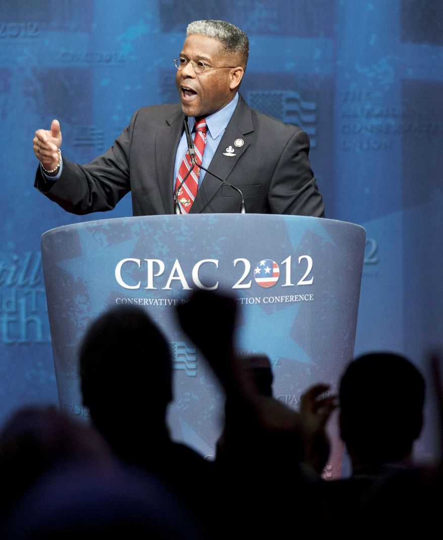 """A political analyst says Rep. Allen B. West's """"pragmatic"""" voting tendencies likely will help, not hurt, his re-election odds in a district not winnable by a pure tea-party candidate. Mr. West is a formidable fundraiser but faces a stiff re-election bid. (Associated Press)"""