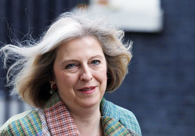 British Home Secretary Theresa May (Associated Press)