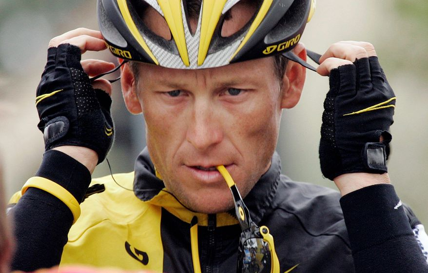 Lance Armstrong won the Tour de France every year from 1999 through 2005. A federal probe into alleged doping ended in February with no criminal charges being brought. (Associated Press)