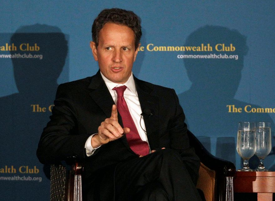 Treasury Secretary Timothy F. Geithner confers frequently with European leaders, but the U.S. has limited leverage in the upcoming G-20 summit. (Associated Press)