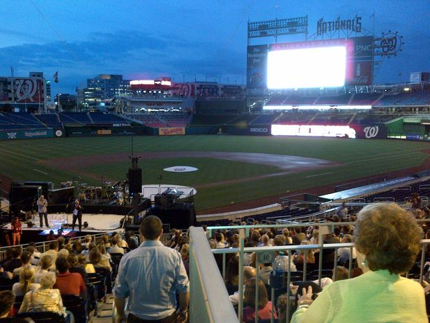 """A live auction takes place at Ryan Zimmerman's """"A Night At the Park"""" fundraise for his ziMS fo"""