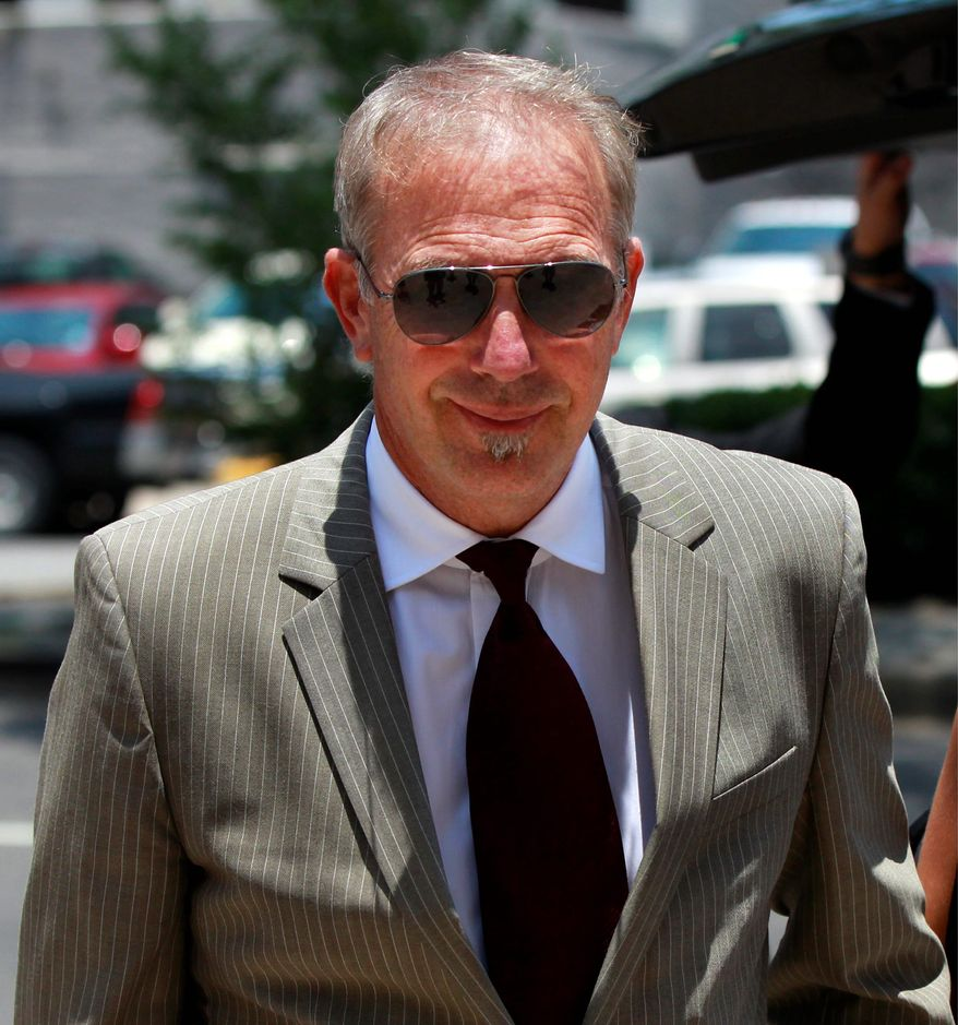 A jury sided with Kevin Costner on Thursday as the movie star defended himself against in court against fellow actor Stephen Baldwin. (Associated Press)