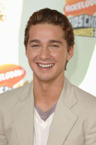 **FILE** Shia LeBouf appears at Nickelodeon's 20th Kid's Choice Awards on March 31, 2007 in Los Angeles. (Associated Press)