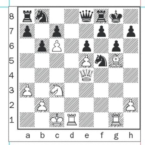 Morozevich-Nakamura after 24...Qe8.