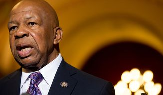 Rep. Elijah E. Cummings, Maryland Democrat (Andrew Harnik/The Washington Times)