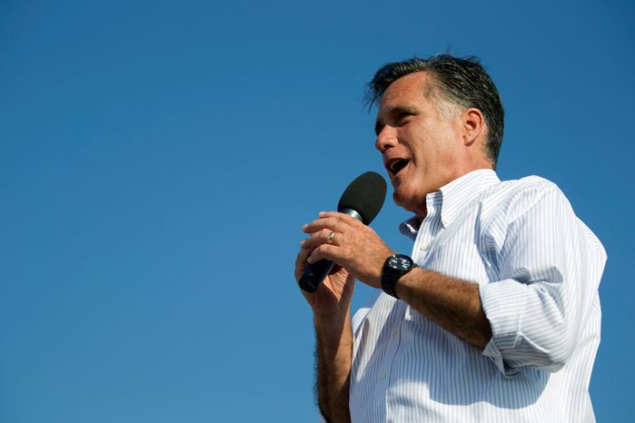 Mitt Romney is scheduled to speak to the National Association of Latino Elected and Appointed Officials on Thursday in Orlando with President Obama's deportation announcement expected to loom large for both candidates. (Associated Press)