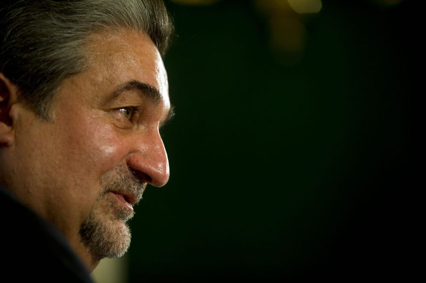 **FILE** Ted Leonsis, owner of the Washington Wizards and the Washington Capitals, fields questions during an editorial board meeting in Washington on March 18, 2011. (The Washington Times)